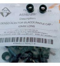 PINTLE CAP DENSO INJECTOR BLACK 7MM LONG 4MM