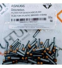 FILTER BASKET FOR BOSCH HDEV5 GDI INJECTOR 4.6MM PLASTIC/BRASS
