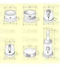 FORKAMERA MITSUBISHI 1.8-2.3D/TD 5.5X11.8