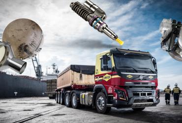 Sunkvežimių, Vilkikų purkštukų ir kuro sistemų remontas