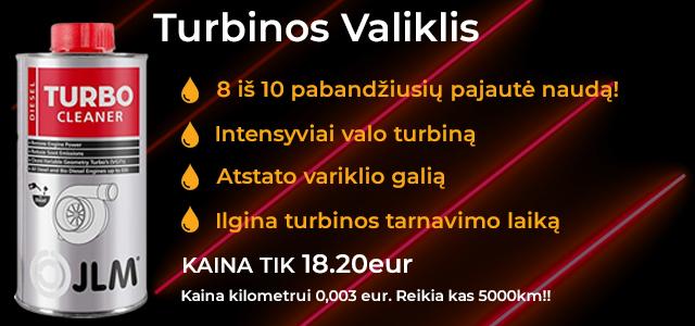 EFEKTYVUS Turbinų valiklis