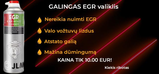Galingas EGR valiklis