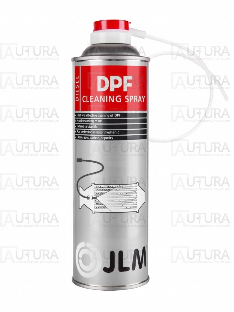 DPF valymo purškiamas priedas JLM Diesel DPF Spray