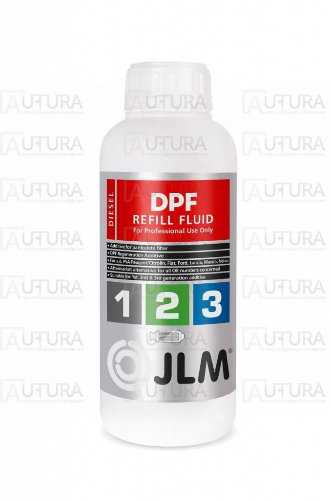 "Skystis ""Eolys"" universalus FAP papildymui JLM Diesel DPF Refill Fluid 1Ltr."